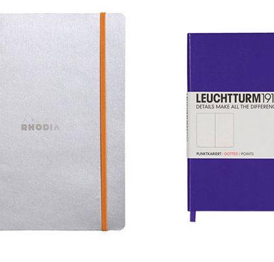 head to head - leuchtturm vs rhodiarama