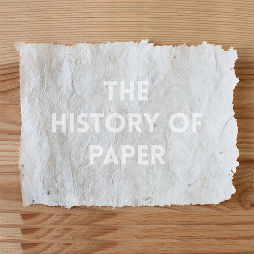 the history of paper part 1