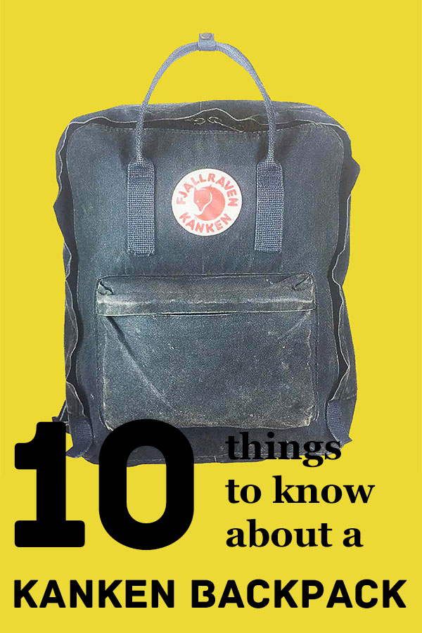 10 facts about the kanken backpack