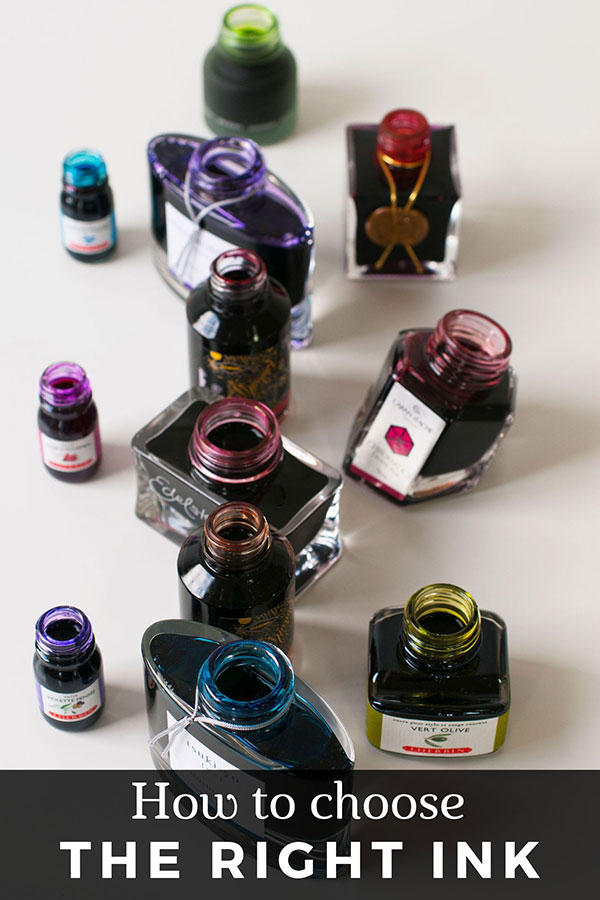 our guide to how to choose the right ink