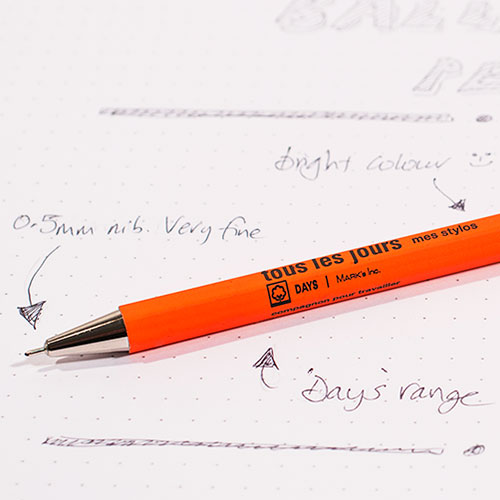 mark's days ballpoint review