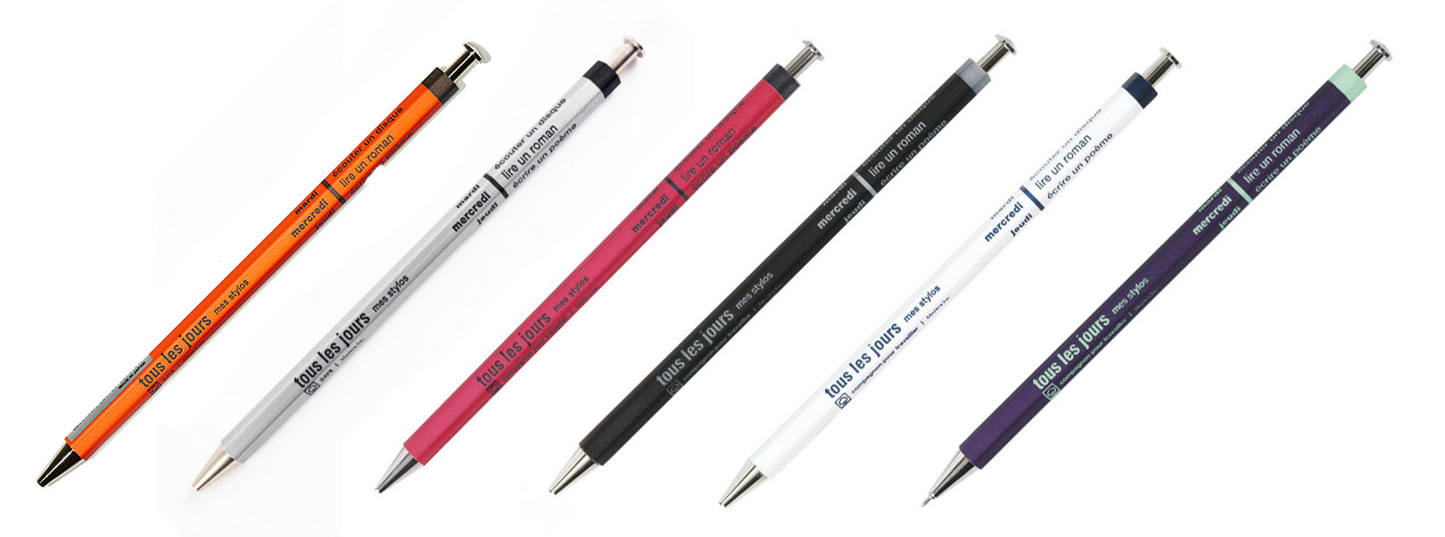 mark's days ballpoint pens - colour choice