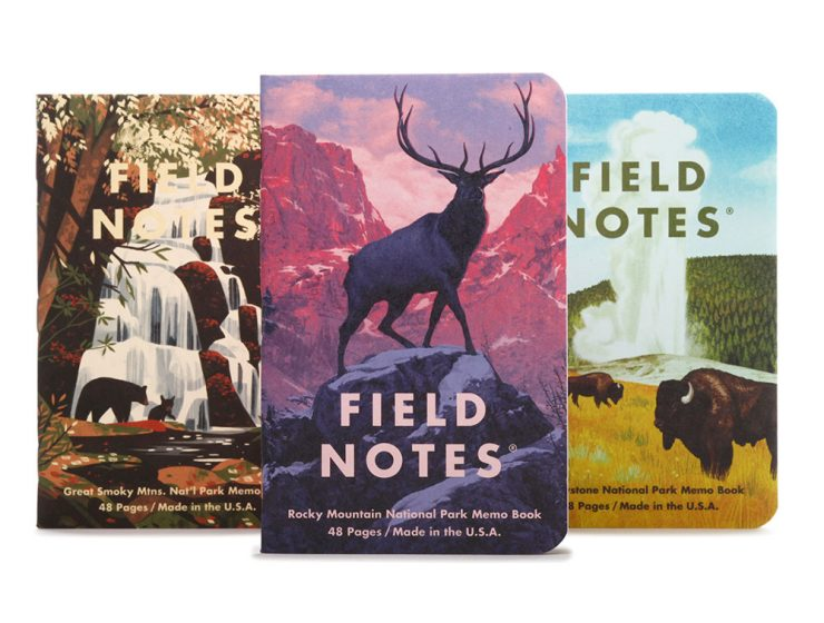 field notes national park series fnc-43