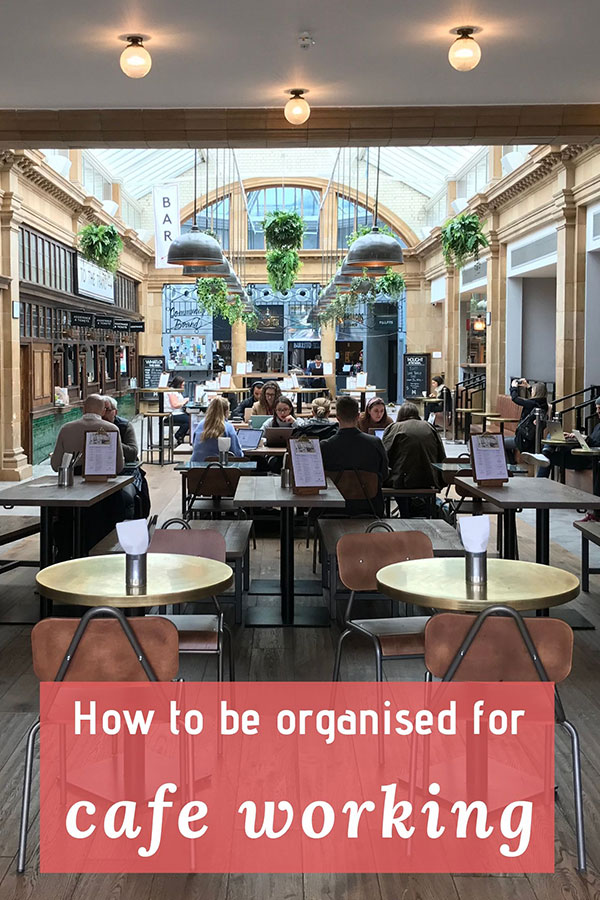 guide on how to be organised for cafe working