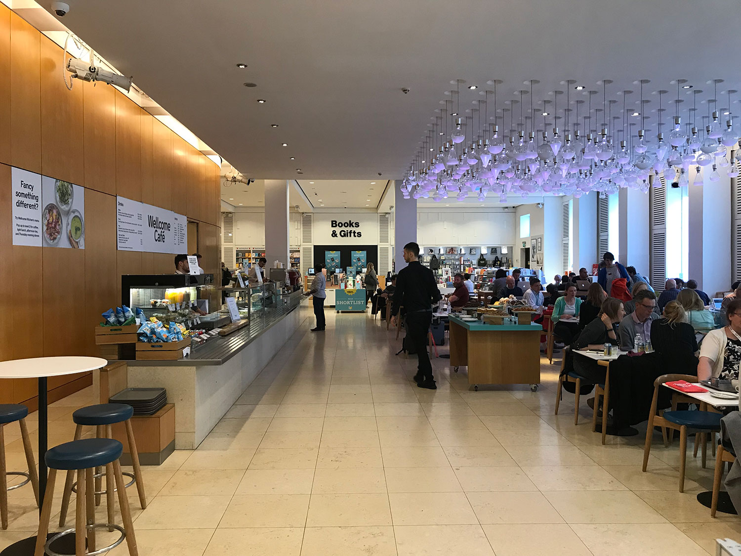 cafe working - the wellcome collection