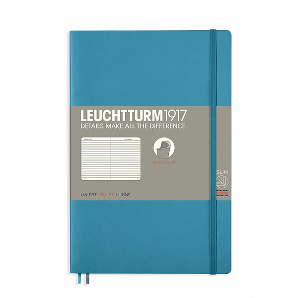 cafe working - leuchtturm notebook