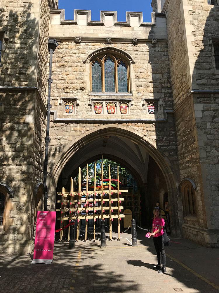 St John's Gate Clerkenwell