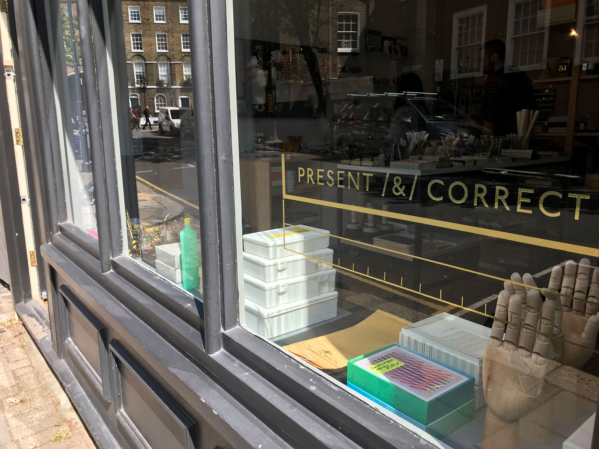 Present & Correct shop on Arlington Way