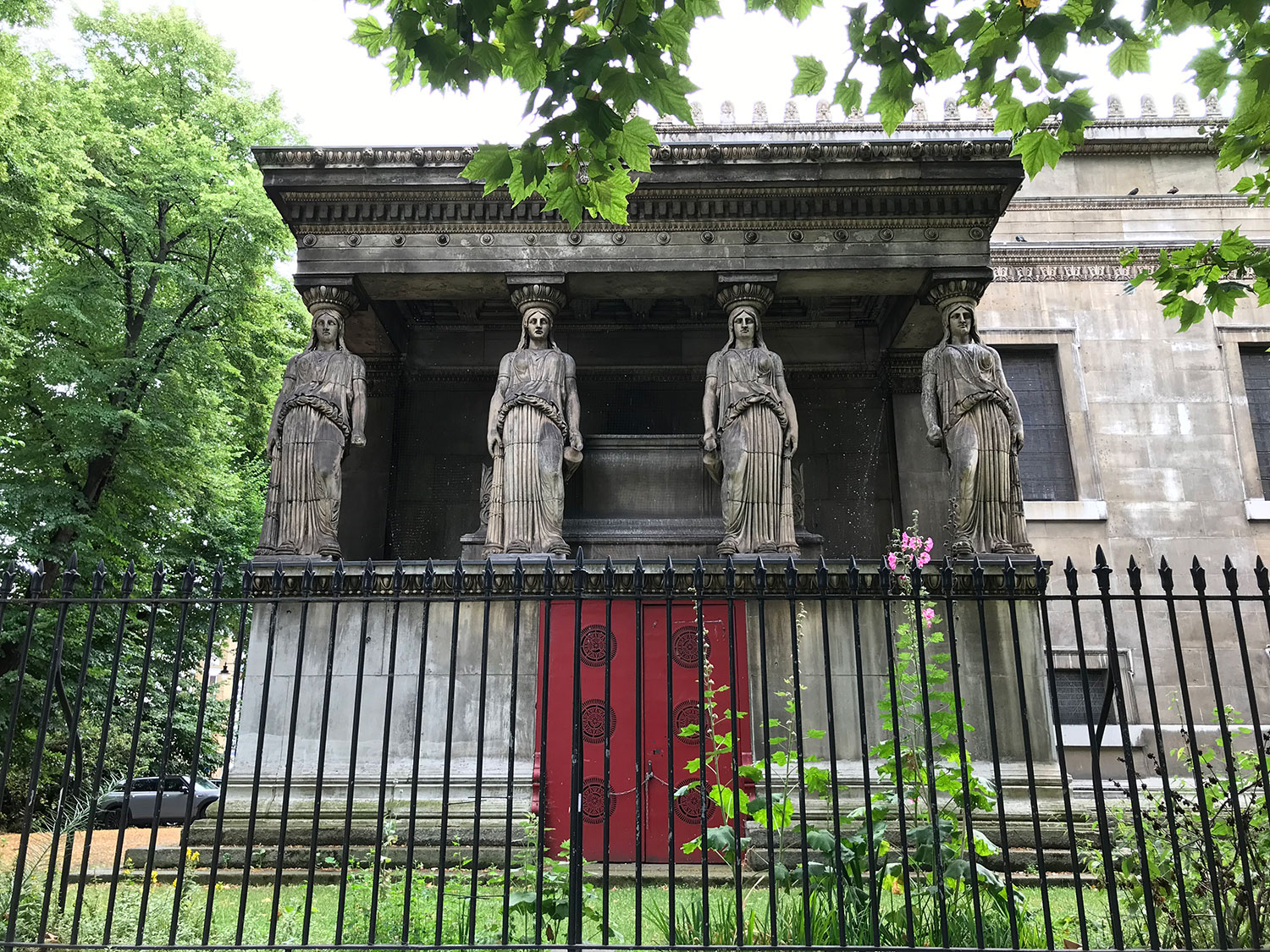 stationery walks - bloomsbury - london - st pancras church