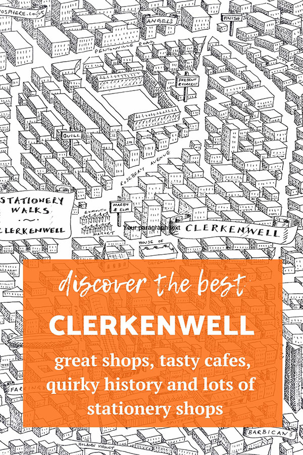 stationery shop walks clerkenwell london