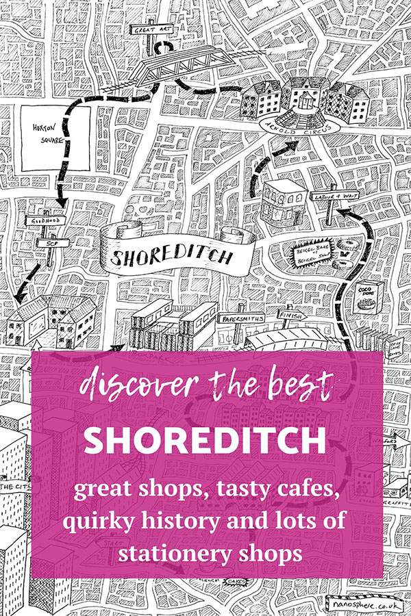 stationery shop walks shoreditch london