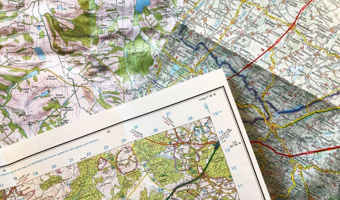 maps are better than GPS - ordnance survey ign michelin