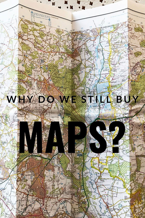 why do we still buy paper maps