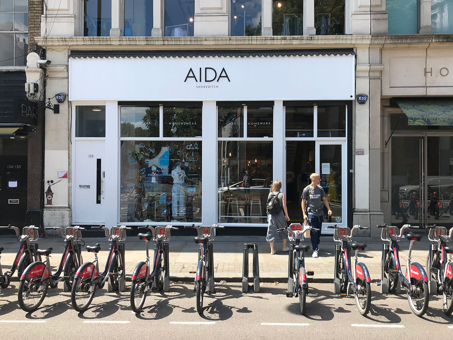 stationery shop walk shoreditch london - aida