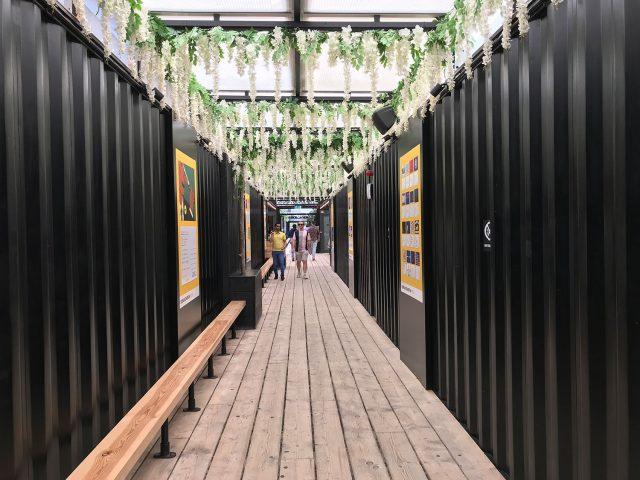 stationery shop walk shoreditch london - boxpark
