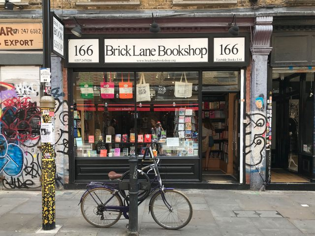 stationery shop walk shoreditch london - brick lane bookshop