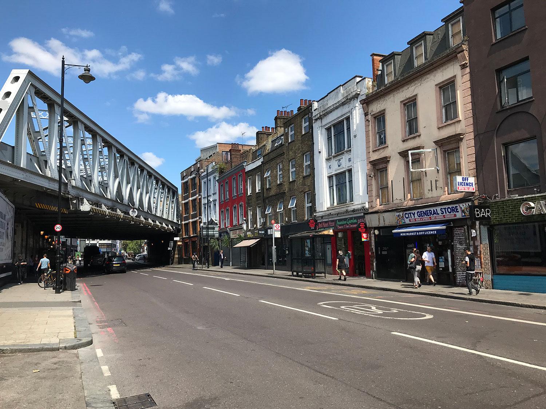 stationery shop walk shoreditch london - shoreditch high street