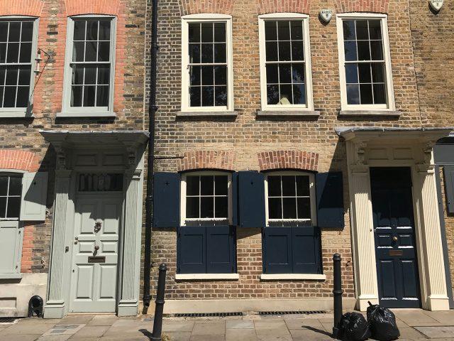 stationery shop walk shoreditch london - fournier street