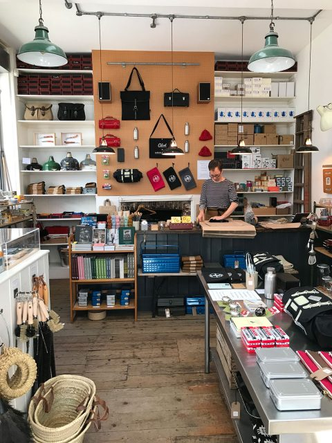stationery shop walk shoreditch london - labour and wait shop