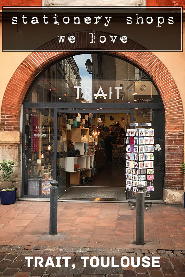 TRAIT, Toulouse - stationery shops we love