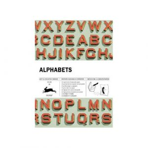 christmas gift ideas - gifts £10 to £30 - alphabet wrapping paper