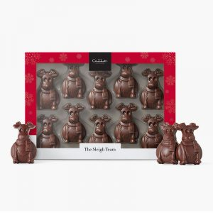 christmas gift ideas - reindeer chocolates