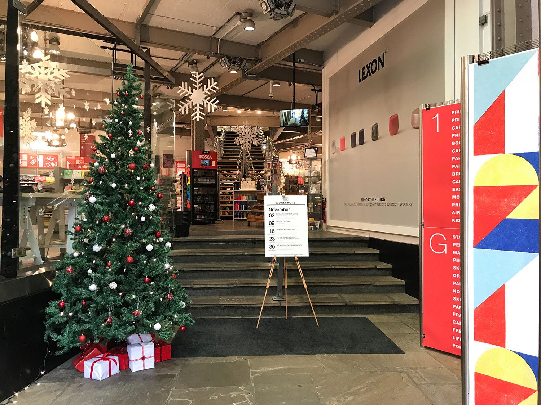 london graphic centre - entrance