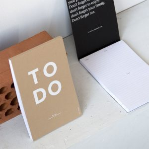 christmas gift ideas - to do pad