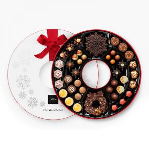 christmas gift ideas - hotel chocolat wreath