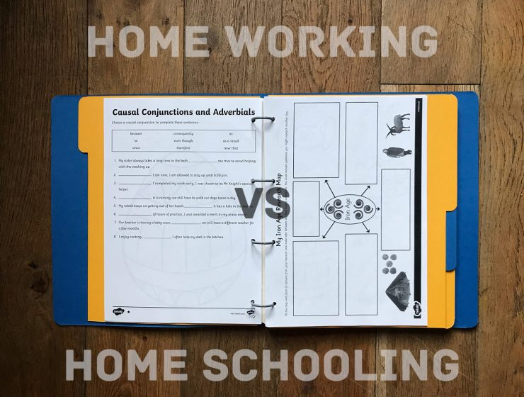 home working vs home schooling