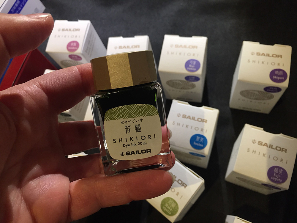 the london pen show 2020 - shikori ink