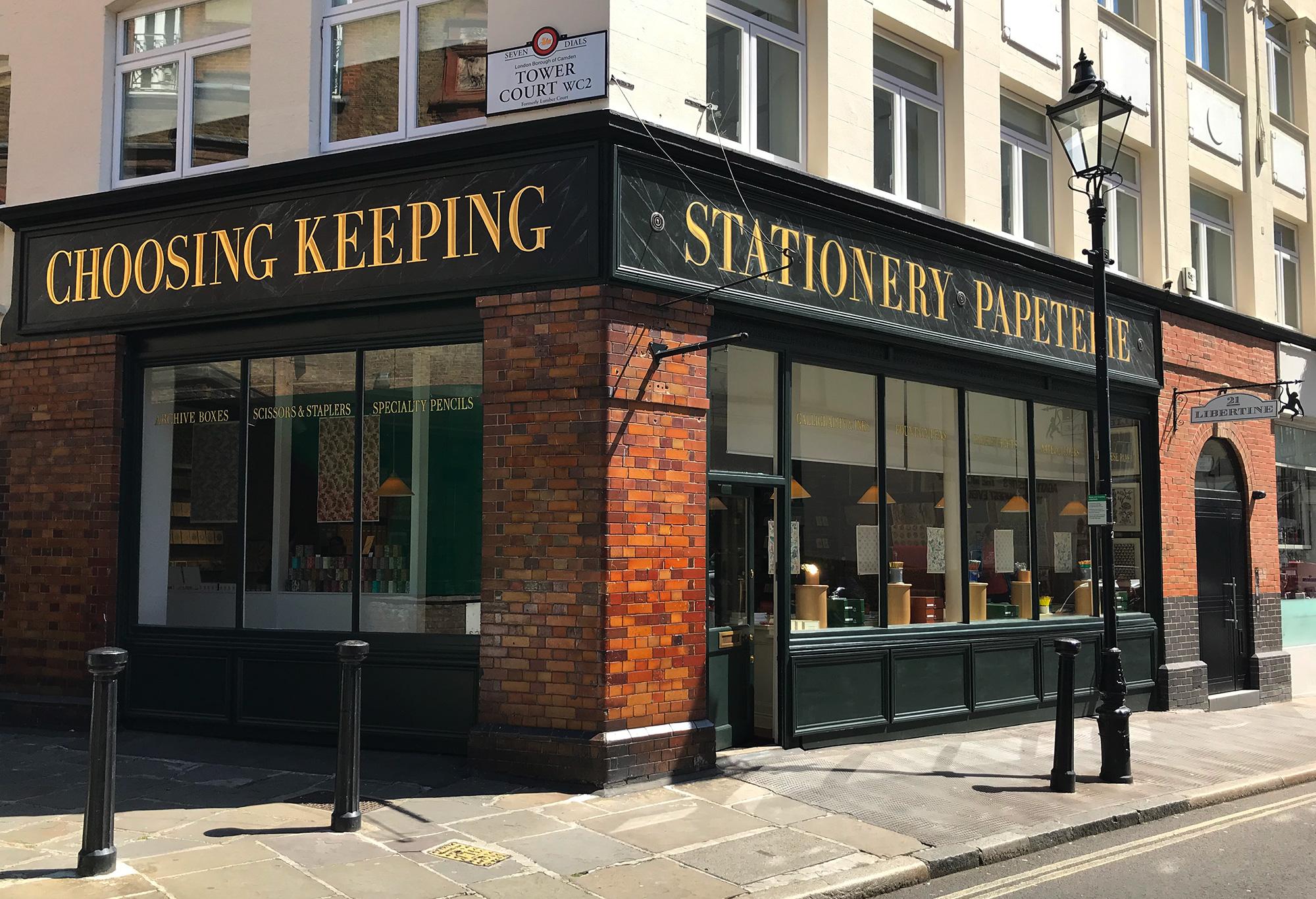 choosing keeping shop