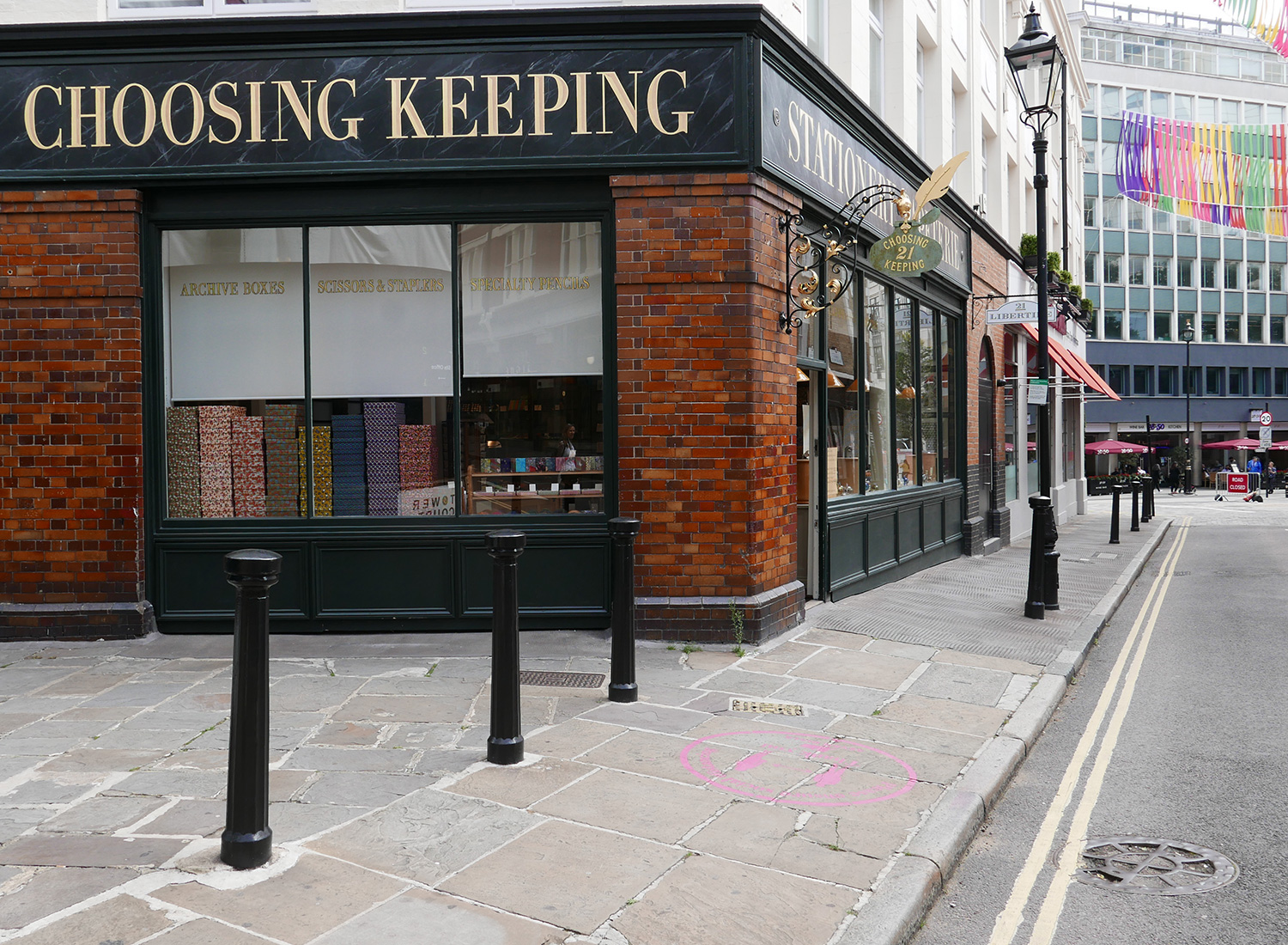 choosing keeping stationery - post covid london