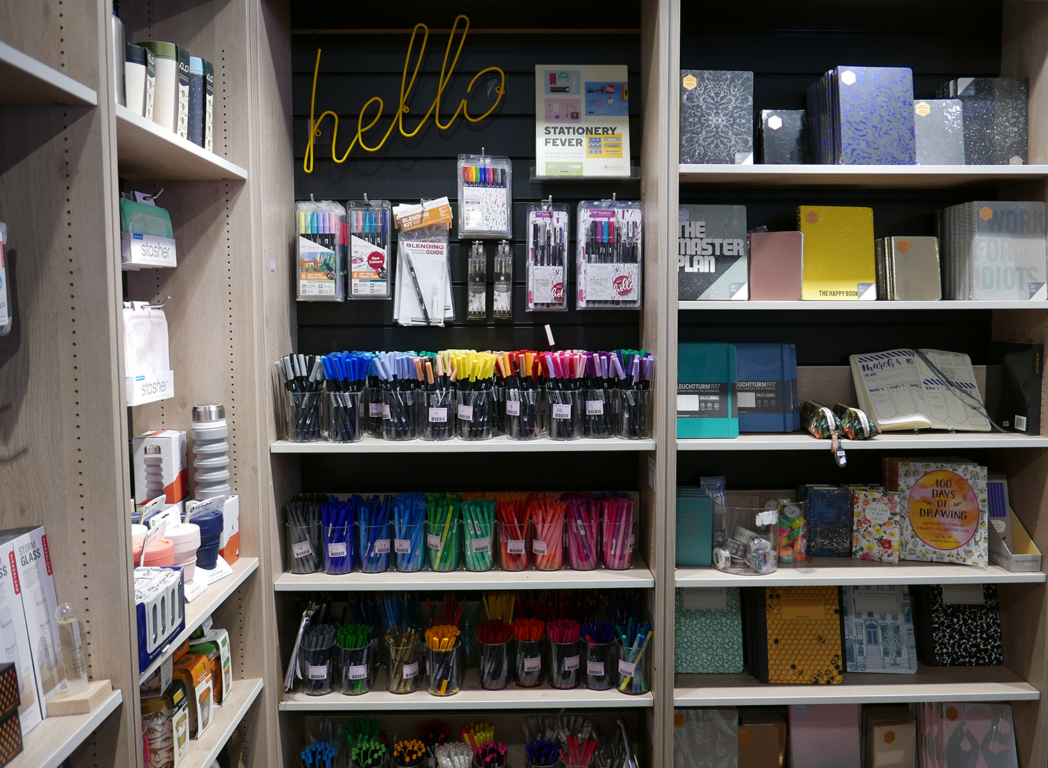 foyles stationery - post covid london