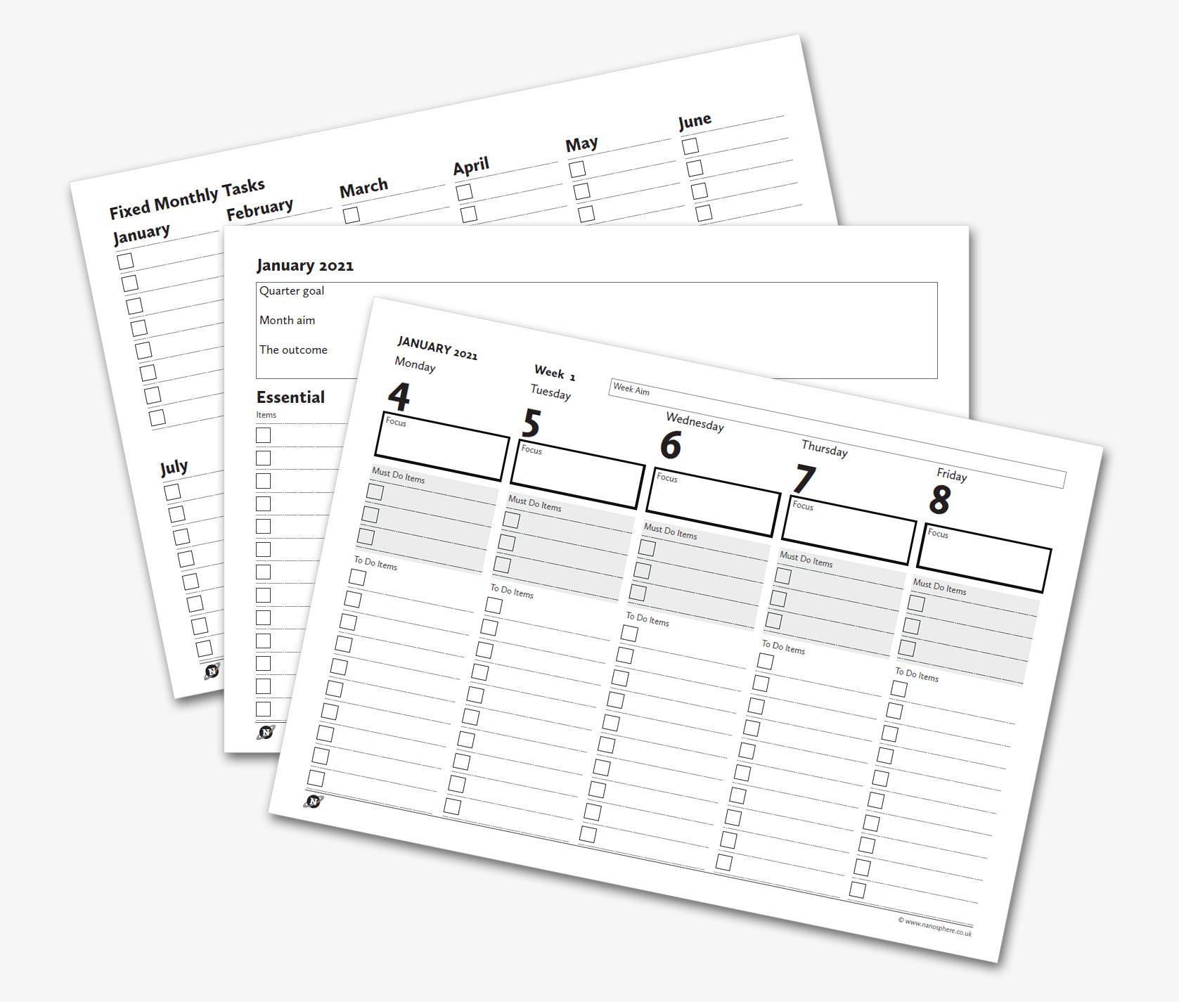 diy diary templates