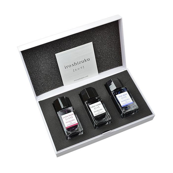 stationery gifts - pilot iroshizuku mini ink set