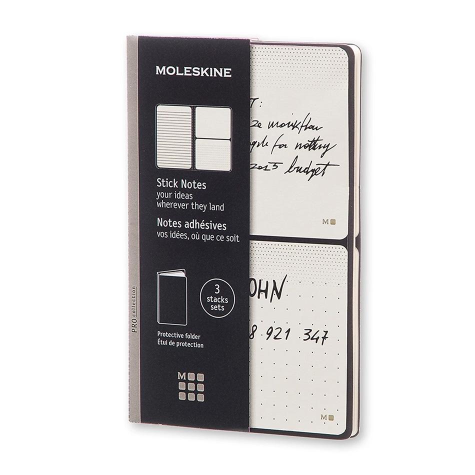 stationery gifts - moleskine sticky notes