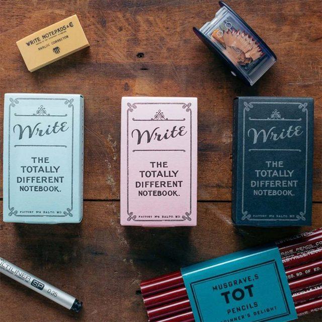 stationery gifts - write pocket flipbook