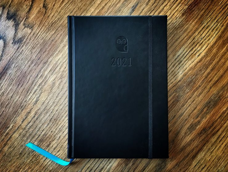 2021 eule diary planner