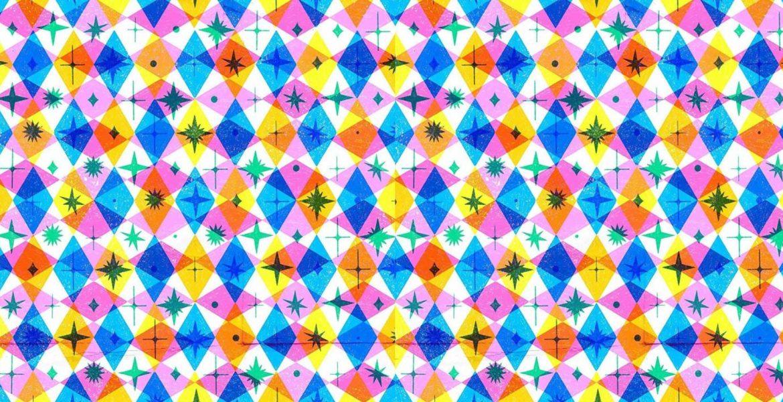 jasmine floyd risograph print pattern
