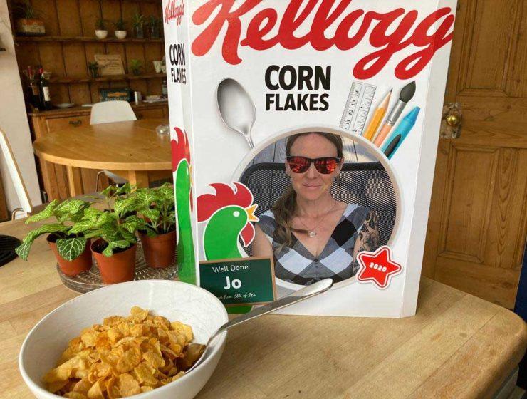 personalisation - cornflakes