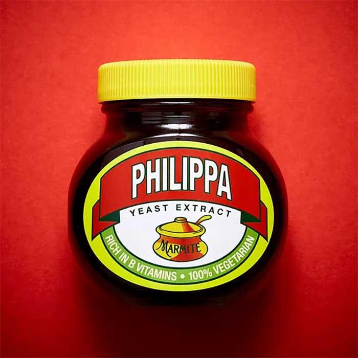personalisation - marmite
