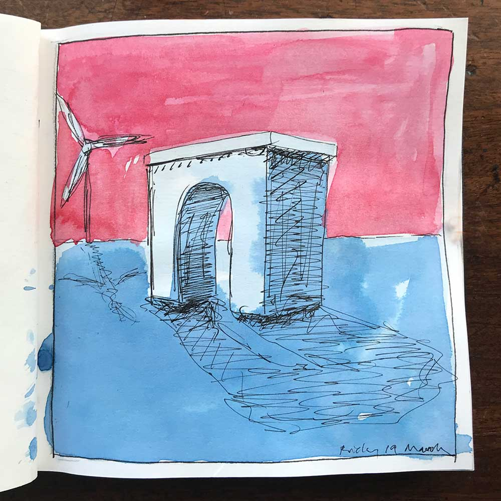 sketchbook day 19