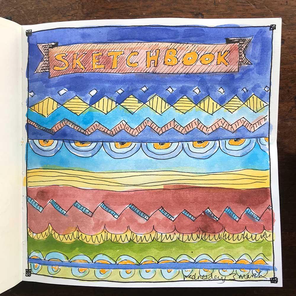 sketchbook day 3